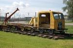 Prince George Railway & Forestry Museum (PGRFM) Track Speeder No. CC714