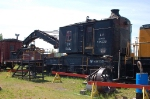 CP Rail (Canadian Pacific Limited - CP) 100 Ton Capacity, Steam Powered Wrecking Crane No. 414325