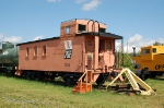 Pacific Great Eastern Railway (PGE) Caboose No. 1845