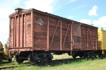 Pacific Great Eastern Railway (PGE) Wooden Outside Braced Box Car No. X-219