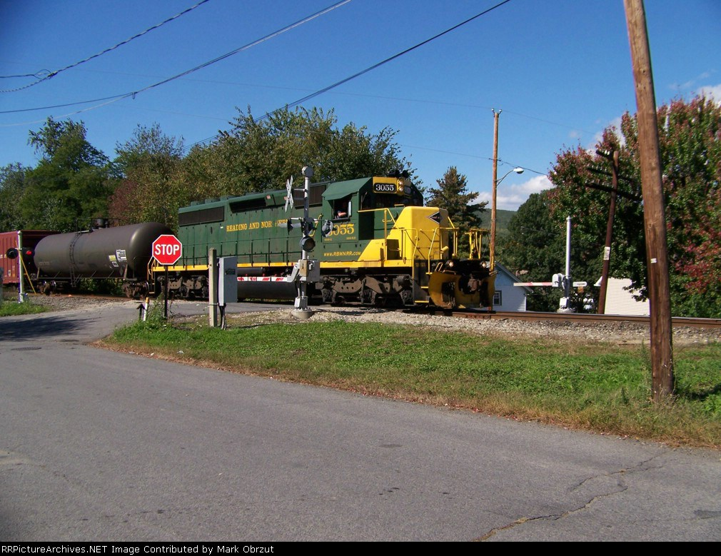Reading and Northern 3055