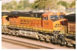 BNNSF 7406 rolls west out of the BNSF Barstow yard towards Cajon Pass, Ca.