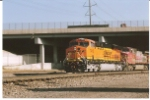 bnsf 7410 continues her southward journey on the BNSF Frontrange subdivision.
