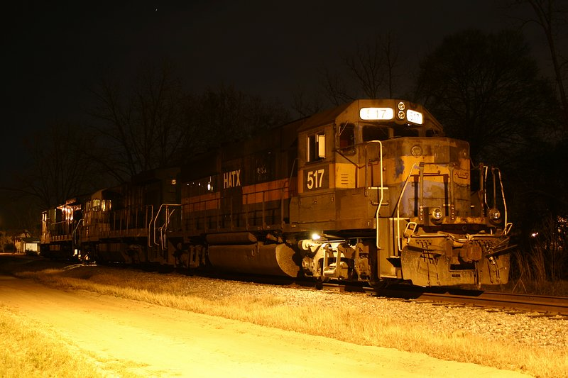 G&F Railnet power parked for the night