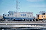 CSX 1819 at Parsons Yard