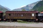 """White Pass & Yukon Route (WPYR) Passenger Coach No. 222, """"Lake Lindeman"""""""