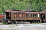 "White Pass & Yukon Route (WPYR) Passenger Coach No. 218, ""Lake Atlin"""