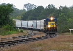 CSX 5850 rouding the curve