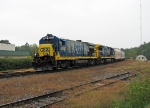 CSX 5850 rolls past the Athens Branch Junction.