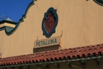Former NP Rwy ?? Petaluma Station sign