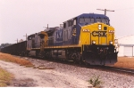 Rare coal train westbound to Tampa