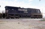 NS 8736 on SB freight
