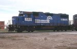 NS 5352 ex con 4 axle leading NS NB freight