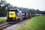 CSX 5950 strange leader on the G&SF!!