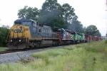CSX SB freight