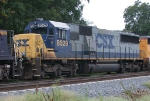 CSX 8529 on a NB freight