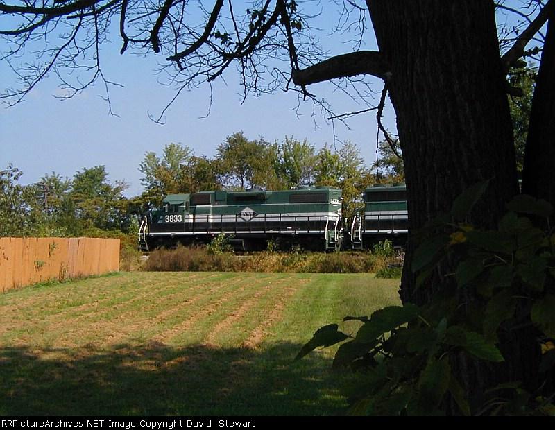 Evansville & Western Railway 3833