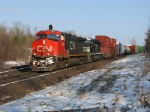 CN southbound at Nopeming Jct