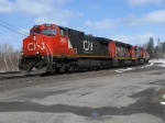 CN south bound core train