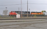 CN 5713 & BNSF 3116 in Heritage I paint