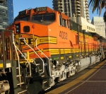 BNSF 4032 is the second of 6 locos