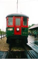 North Shore Line #714