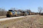 INRD Loaded Coal Train