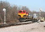 KCS 4117/KCS 2904 on the move