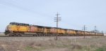 UP 5625 Leads 11 GE Units eastbound
