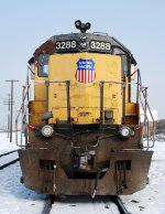 UP 3288 is a nonstarter on a cold -7F day
