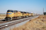 UP 4190 leads autorack train east