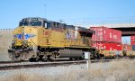DPU UP 5403 pushes on west bound UP intermodal