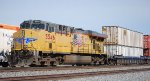 DPU UP 5546 pushes on west ward UP double stack