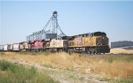 UP 5626, UP 5325, CP 8797 & UP 5339 on point of westbound UP freight