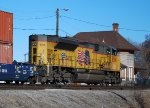 UP 8398 DPU brings up rear on Double Stack
