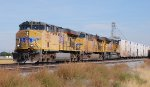 UP 5376 leads ARMN Reefer unit train east bound