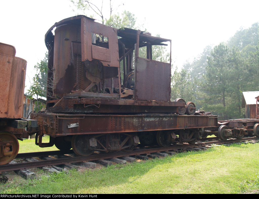 Old Steam Derick or Pile driver