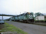1183-34 Northbound BN taconite ore empties