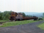 1188-22 DM&IR local freight on ex-NP Duluth Transfer line switches near Mikes Yard