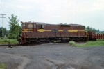 1188-23 DM&IR local freight on ex-NP Duluth Transfer line switches near Mikes Yard