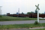 1188-26 DM&IR local freight on ex-NP Duluth Transfer line switches near Mikes Yard