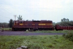 1188-28 DM&IR local freight on ex-NP Duluth Transfer line switches near Mikes Yard