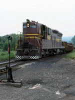 1188-31 DM&IR local freight on ex-NP Duluth Transfer line switches near Mikes Yard