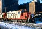 1125-12 Southbound SOO Railway Job heading for C&NW Railway Transfer Yard