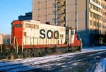 1125-14 Southbound SOO Railway Job heading for C&NW Railway Transfer Yard
