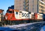 1125-15 Southbound SOO Railway Job heading for C&NW Railway Transfer Yard