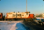1125-18 Southbound SOO Railway Job arriving C&NW Railway Transfer Yard