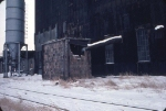 1126-08 Great Northern Elevator at BN Lyndale Yard undergoing demolition