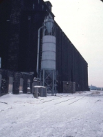 1126-09 Great Northern Elevator at BN Lyndale Yard undergoing demolition