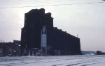 1126-10 Great Northern Elevator at BN Lyndale Yard undergoing demolition